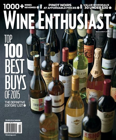 Wine Enthusiast Cover - 11/1/2015