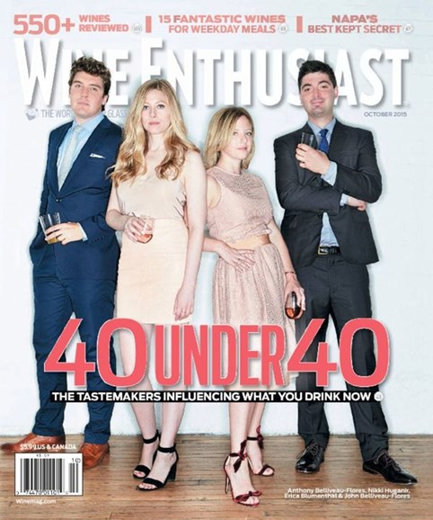 Wine Enthusiast Cover - 10/1/2015