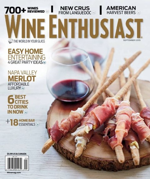 Wine Enthusiast Cover - 9/1/2015