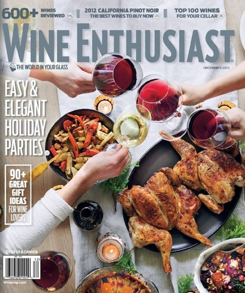 Wine Enthusiast Cover - 12/1/2014