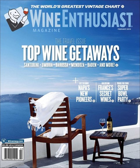 Wine Enthusiast Cover - 2/1/2014
