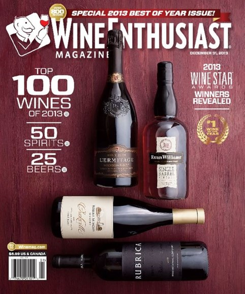 Wine Enthusiast Cover - 1/1/2014