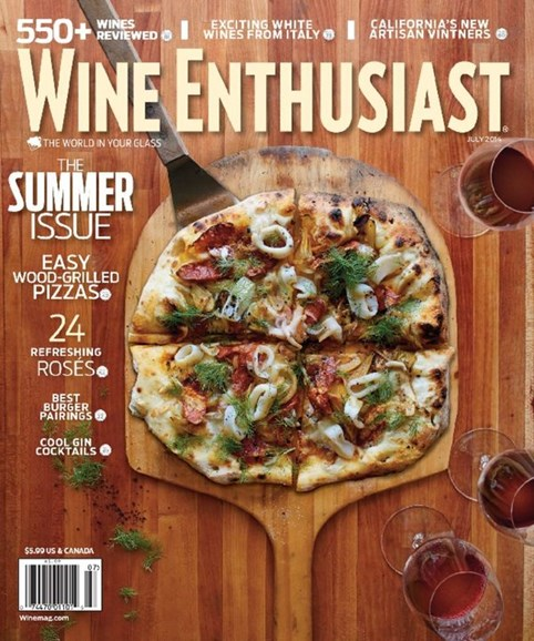 Wine Enthusiast Cover - 7/1/2014