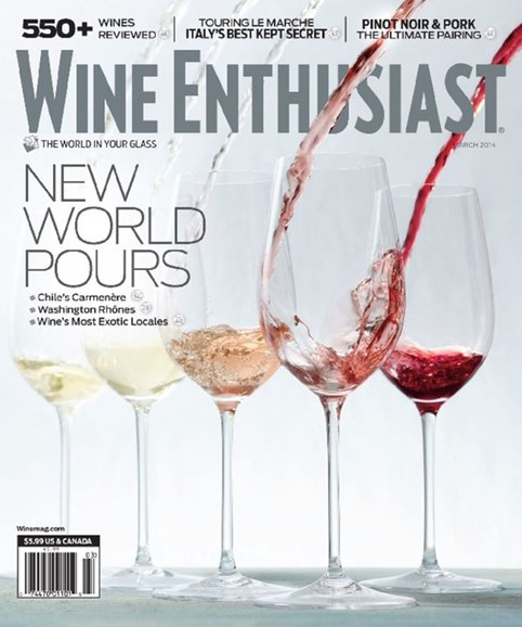 Wine Enthusiast Cover - 3/1/2014