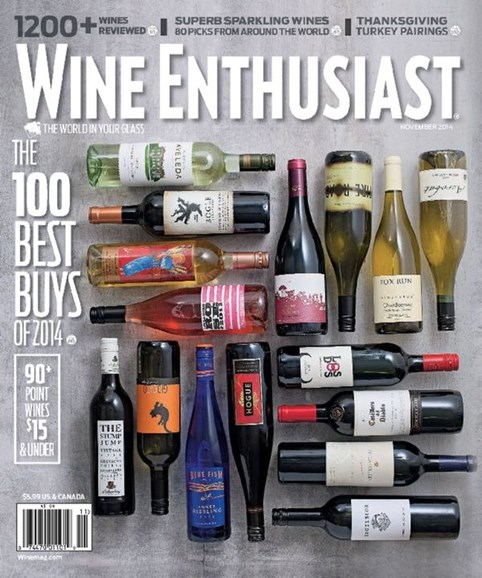 Wine Enthusiast Cover - 11/1/2014