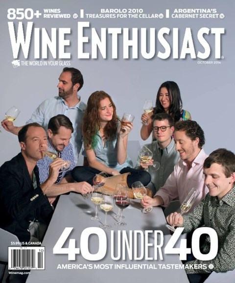 Wine Enthusiast Cover - 10/1/2014