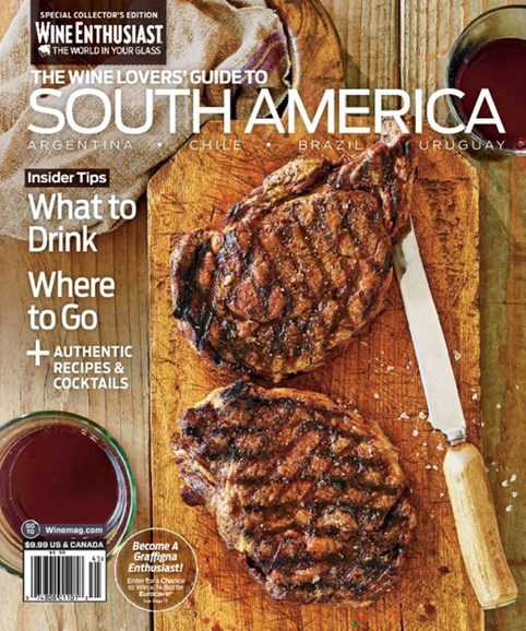 Wine Enthusiast Cover - 10/15/2014