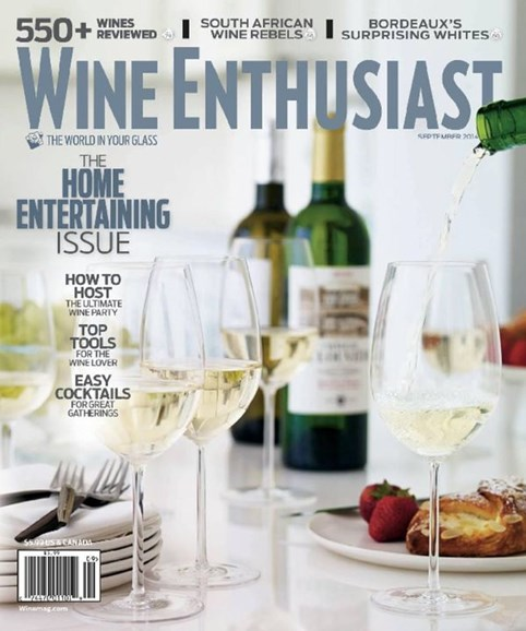 Wine Enthusiast Cover - 9/1/2014