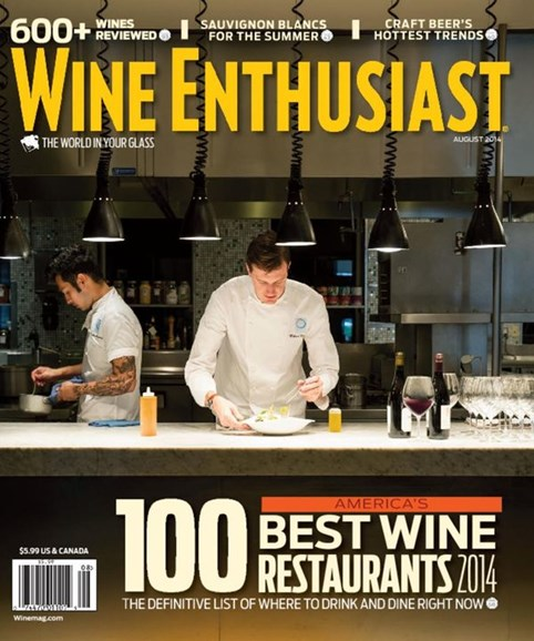 Wine Enthusiast Cover - 8/1/2014