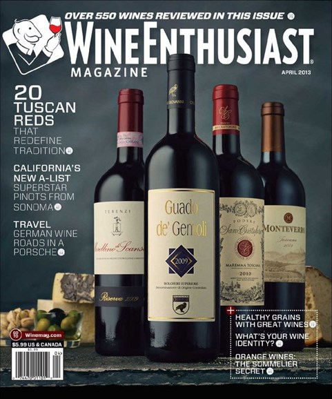 Wine Enthusiast Cover - 4/1/2013