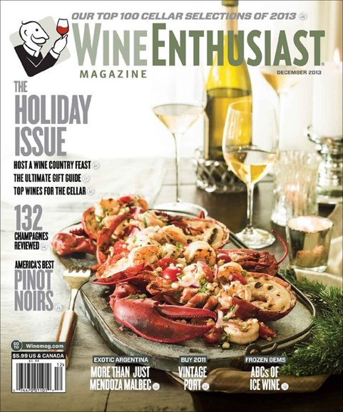 Wine Enthusiast Cover - 12/1/2013