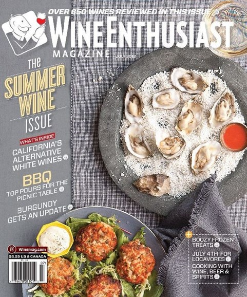 Wine Enthusiast Cover - 7/1/2013