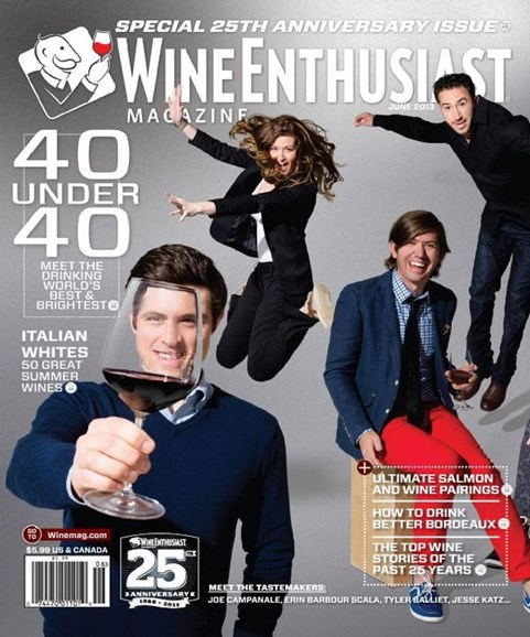 Wine Enthusiast Cover - 6/1/2013