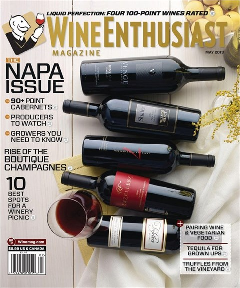 Wine Enthusiast Cover - 5/1/2013