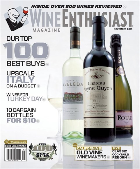Wine Enthusiast Cover - 11/1/2013