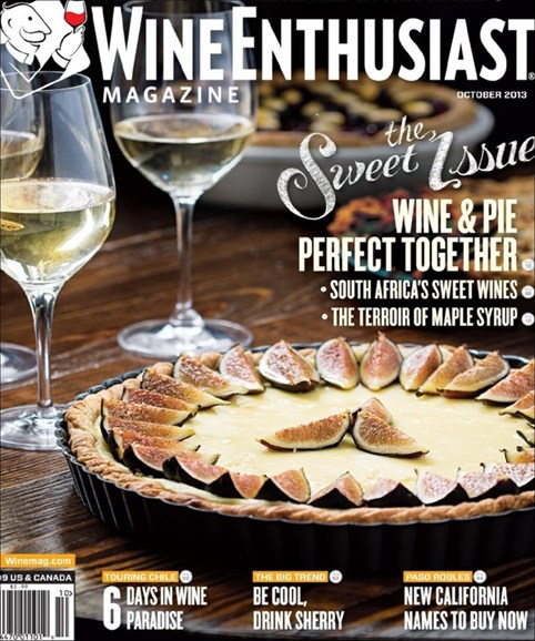 Wine Enthusiast Cover - 10/1/2013