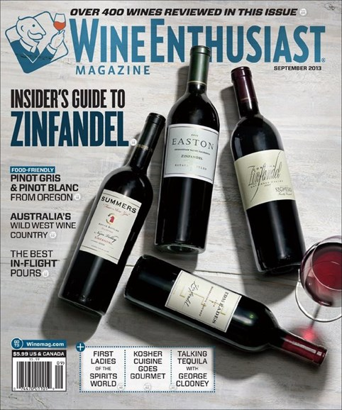 Wine Enthusiast Cover - 9/1/2013