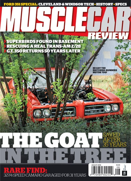 Muscle Car Review Cover - 8/1/2016