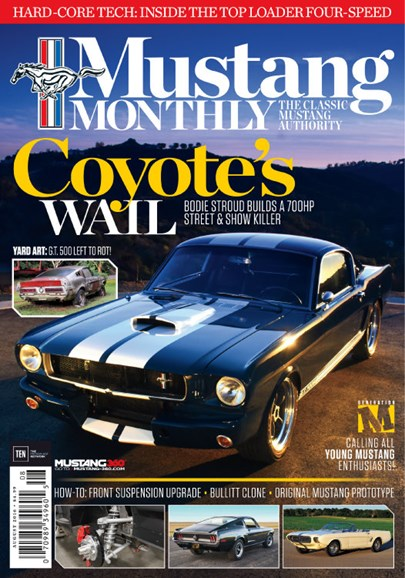 Mustang Monthly Cover - 8/1/2016