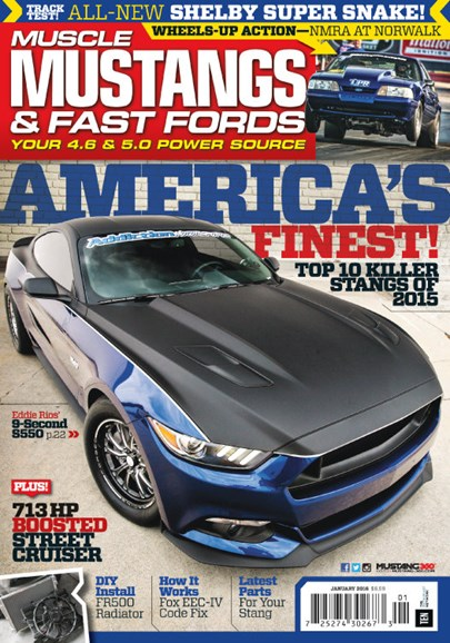 Muscle Mustangs & Fast Fords Cover - 1/1/2016