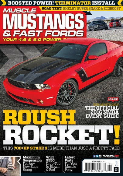 Muscle Mustangs & Fast Fords Cover - 4/1/2016