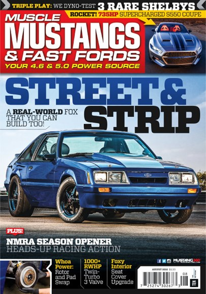 Muscle Mustangs & Fast Fords Cover - 8/1/2016