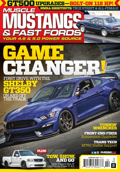 Muscle Mustangs & Fast Fords Cover - 2/1/2016