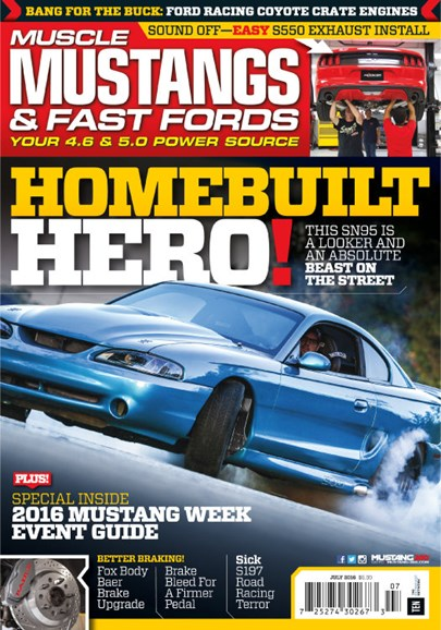 Muscle Mustangs & Fast Fords Cover - 7/1/2016