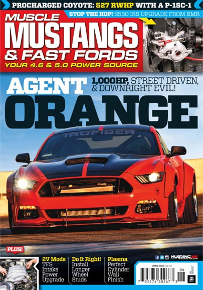 Muscle Mustangs & Fast Fords Cover - 6/1/2016