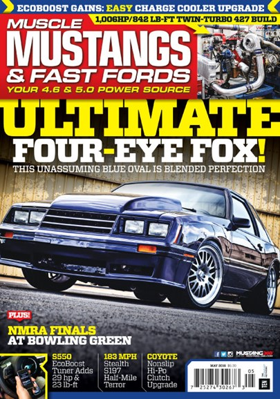 Muscle Mustangs & Fast Fords Cover - 5/1/2016
