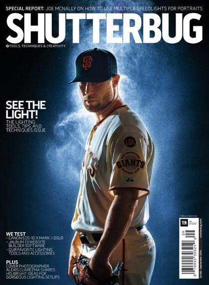 Shutterbug Cover - 9/1/2016