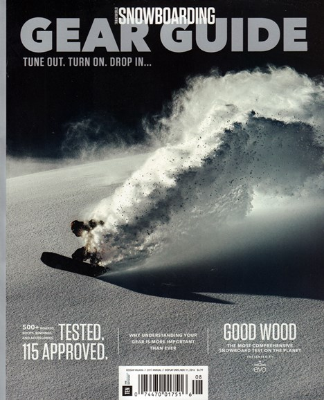 Transworld SNOWboarding Cover - 9/1/2016