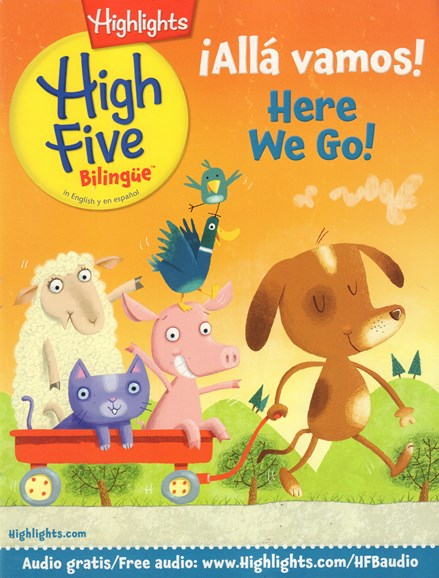 Highlights High Five Bilingue Cover - 9/1/2016