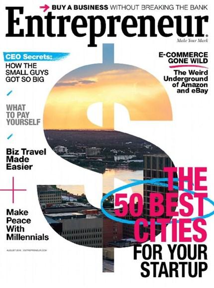 Entrepreneur Cover - 8/1/2016
