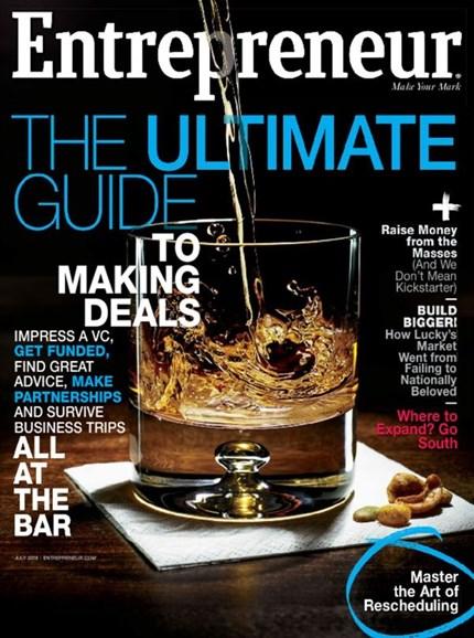 Entrepreneur Cover - 7/1/2016