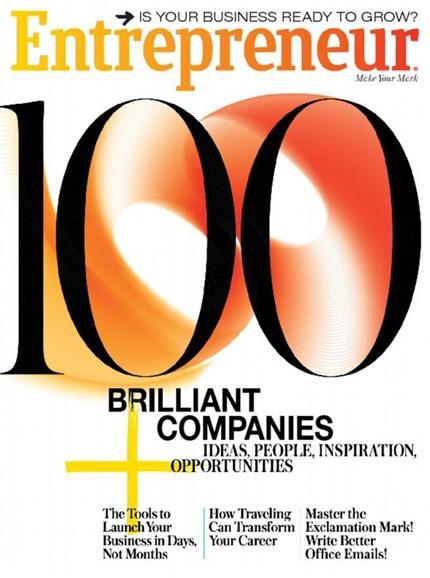 Entrepreneur Cover - 6/1/2016