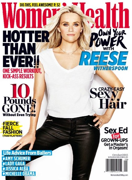 Women's Health Cover - 10/1/2015