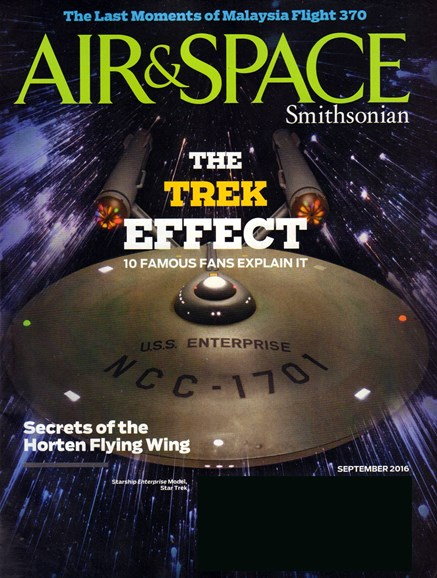 Air & Space Cover - 9/1/2016