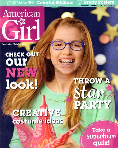 American Girl Cover - 9/1/2016