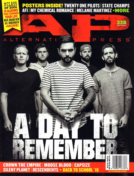 Alternative Press Cover - 9/1/2016