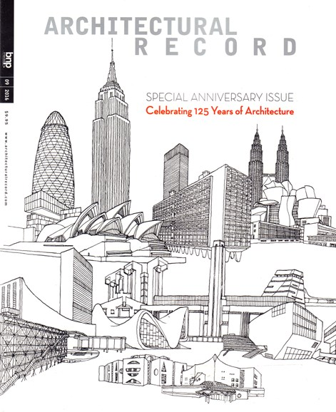 Architectural Record Cover - 9/1/2016