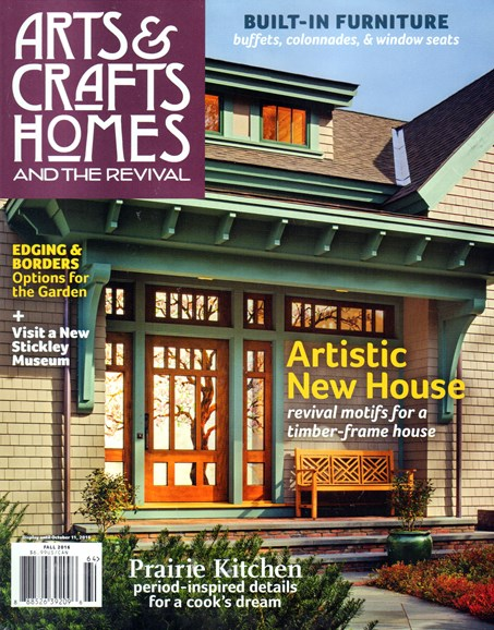 Arts & Crafts Homes Cover - 9/1/2016