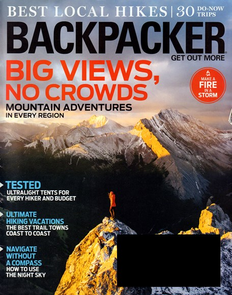 Backpacker Cover - 9/1/2016