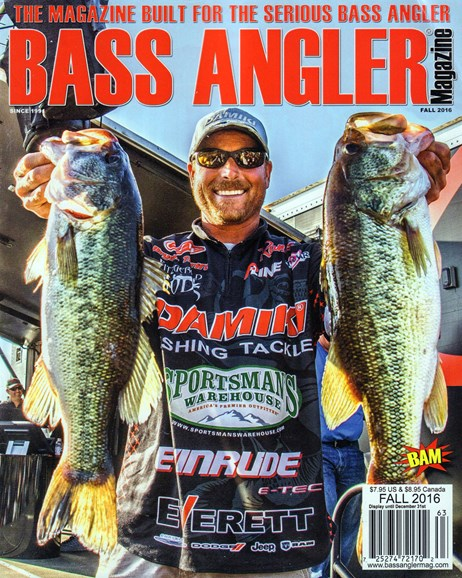 Bass Angler Cover - 9/1/2016