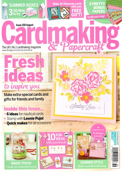 CardMaking & PaperCrafts Cover - 8/1/2016