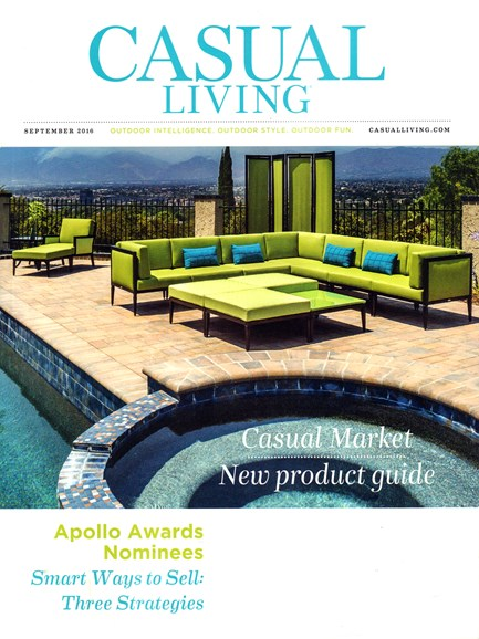 Casual Living Cover - 9/1/2016