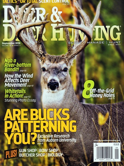 Deer & Deer Hunting Cover - 9/1/2016