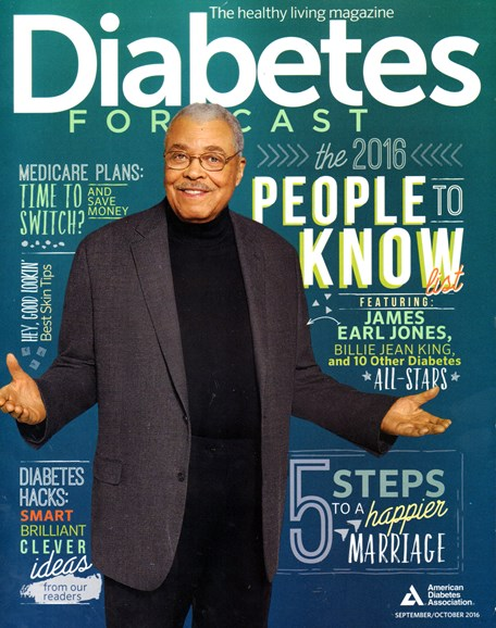 Diabetes Forecast Cover - 9/1/2016