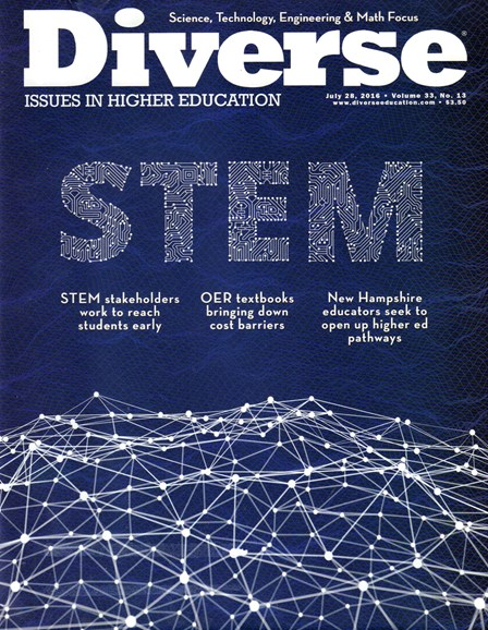 Diverse: Issues In Higher Education Cover - 7/28/2016