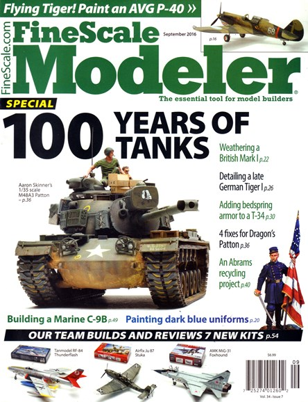 Finescale Modeler Cover - 9/1/2016